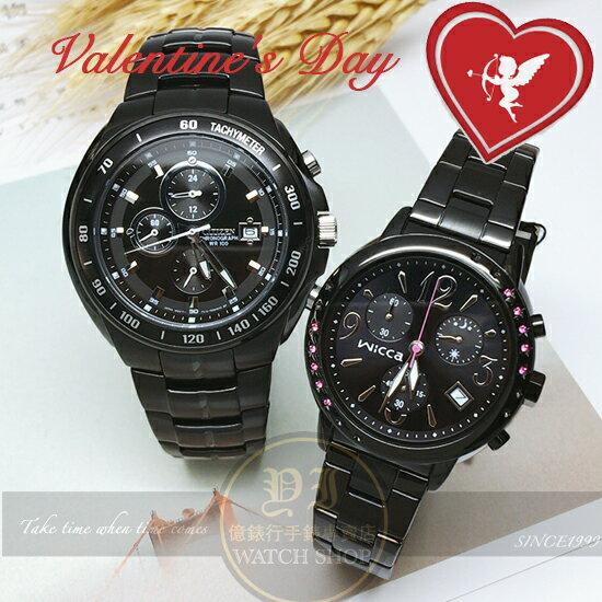 CITIZEN日本星辰幻想戀人計時時尚腕錶AN4019-52E/BM1-148-51公司貨