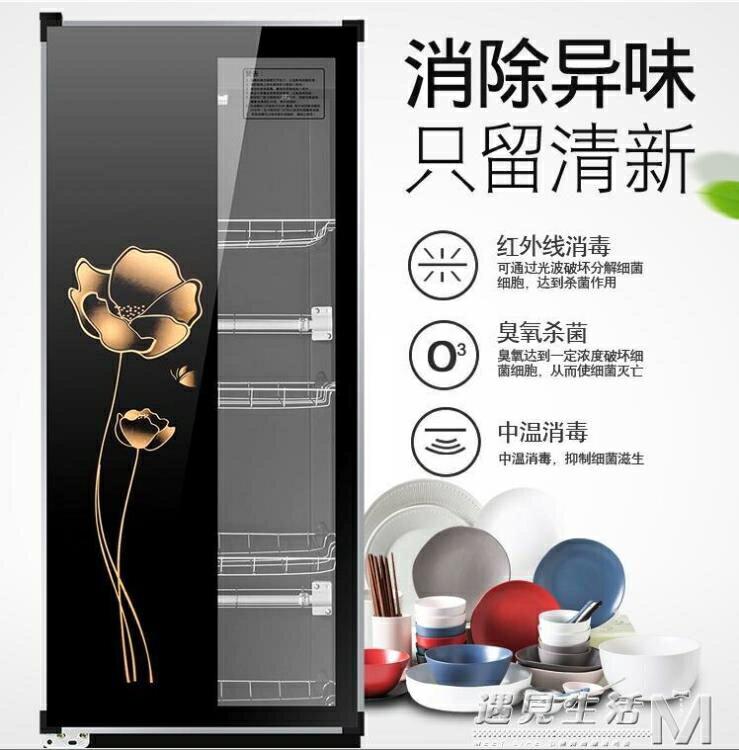 消毒櫃大型商用消毒碗櫃雙單門小型立式家用碗筷餐具消毒櫃220V
