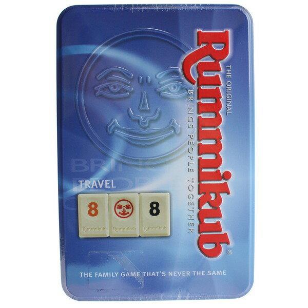 RummikubTinMini拉密(鐵盒)NO.1520拉密數字磚塊牌一盒入{促780}拉米牌遊戲桌遊拉密牌以色列麻將拉密數字牌~佳0542001