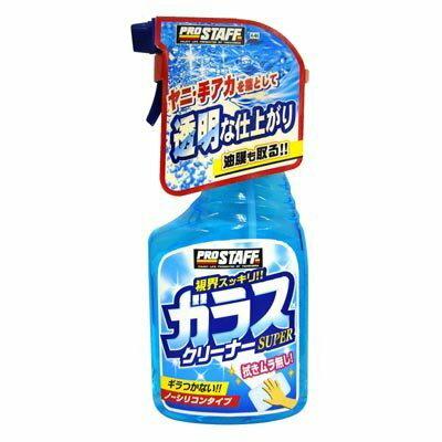 權世界@汽車用品 日本進口 Prostaff 噴霧式 超級玻璃清潔油膜去除劑 400ml A-44