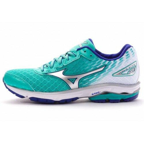 [ALPHA] MIZUNO WAVE RIDER 19 J1GD160304 女鞋 跑鞋