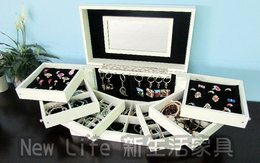 新生活家具 旋轉珠寶盒 收納盒 首飾盒 禮物