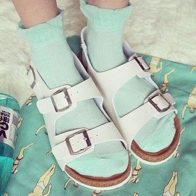 涼鞋 歐美流行經典時尚軟木風涼鞋(35~40)【S914】☆雙兒網☆ 3