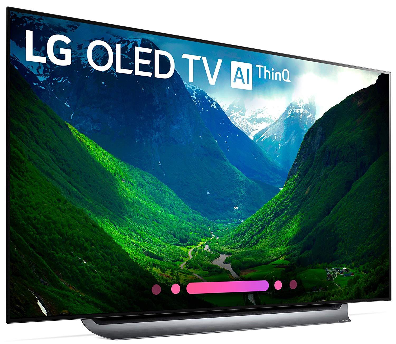 LG Electronics OLED65C8PUA 65-Inch 4K Ultra HD Smart OLED TV (2018 Model)