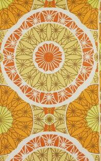 壁紙屋本舖:橙色壁紙復古壁紙WD-35
