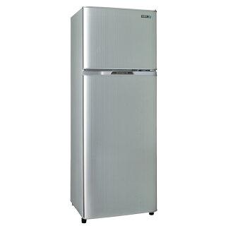 SAMPO 聲寶 250L經典品味雙門電冰箱SR-L25G(S2) 璀璨銀  (含拆箱定位+舊機回收)