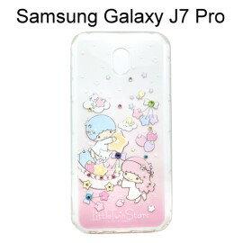 雙子星空壓氣墊鑽殼[繽紛水果]SamsungGalaxyJ7Pro(5.5吋)【三麗鷗正版】