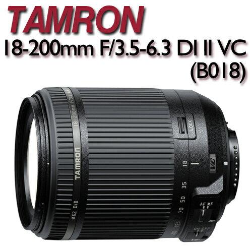 TAMRON 18~200mm F  3.5~6.3 DI II VC ~ 貨 B018~