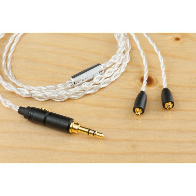 志達電子 Silver Fox II(銀狐) HiSS漢聲小舖 OFHC線蕊 IE80 W60 UE900 SE535 JH16 1964 Westone 升級線 耳機 發燒