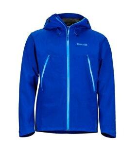 【【蘋果戶外】】Marmot31020-2707寶藍色美國男KnifeEdgePacliteGORE-TEX土撥鼠防水外套GTX防風外套風衣雨衣風雨衣