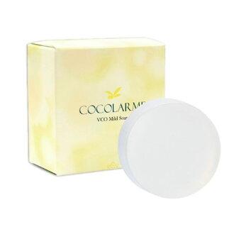 美康櫻森 VCO椰油精粹嫩白洗顏皂 85G 贈起泡網效期2022.07【淨妍美肌】