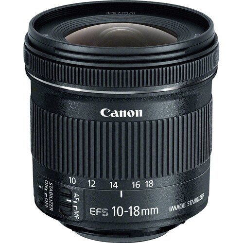 Canon EF-S 10-18mm f/4.5-5.6 IS STM Lens 9519B002 0