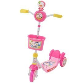 PUKU滑板車-粉1566『121婦嬰用品館』