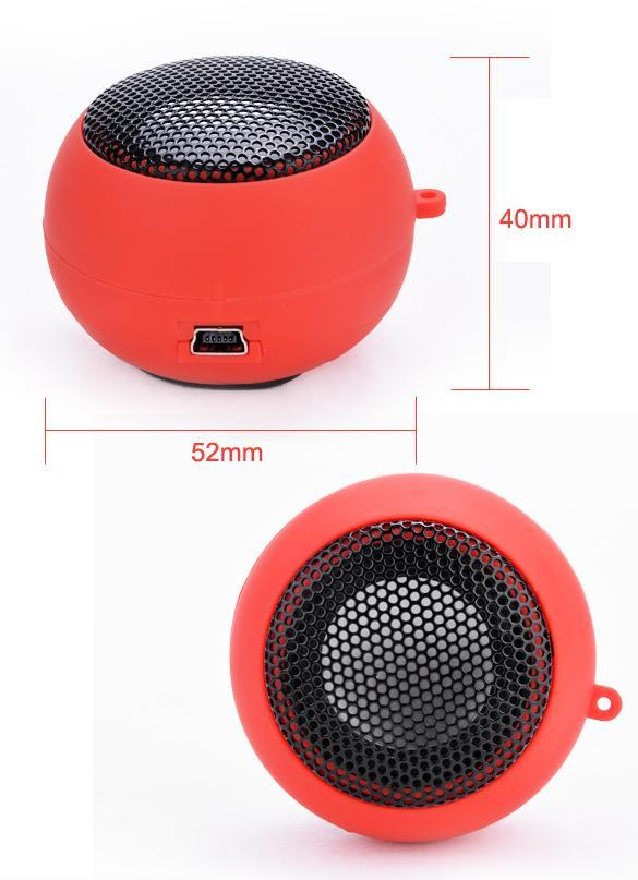 Portable USB Mp3 Speake Amplifier Loudspeaker 4