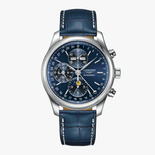 LONGINES 浪琴 L27734920 名匠系列月相計時腕錶 42mm