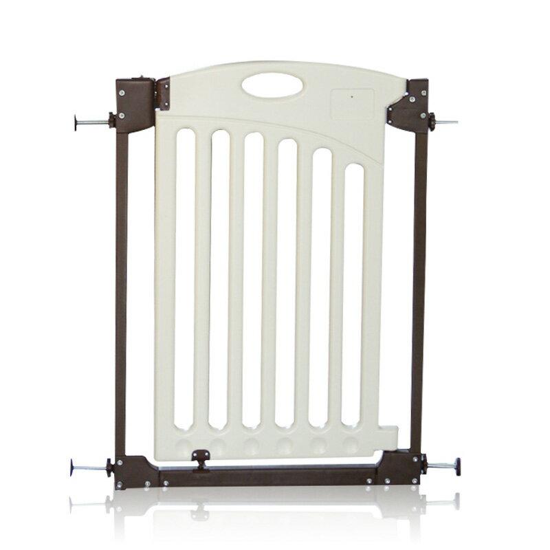 日本安全門欄 防護欄 塑鋼門欄 雙向開啟 自動回扣( 無須打孔)