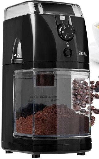 Secura Automatic Electric Burr Coffee Grinder Mill 8f0fc5faf5d744f33236a5f7a1c70fe7