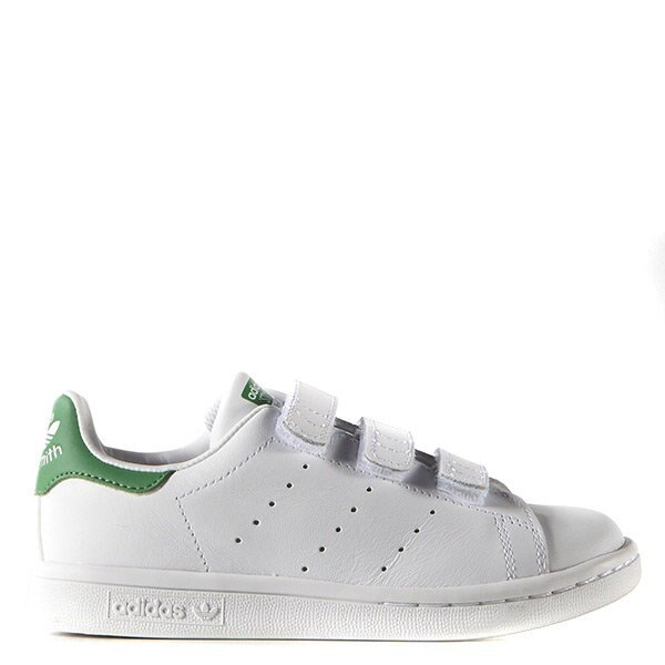 【EST S】Adidas Stan Smith M20607 史密斯 魔鬼氈 小童鞋 白綠 H0317