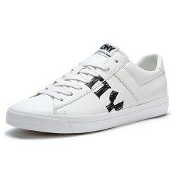 Shoestw【91M1TS05RW】PONY TOP STAR 滑板鞋 休閒鞋 板鞋 皮革 塗鴉PONY字 白色 男生 蔡依林 周筆暢 雙后代言