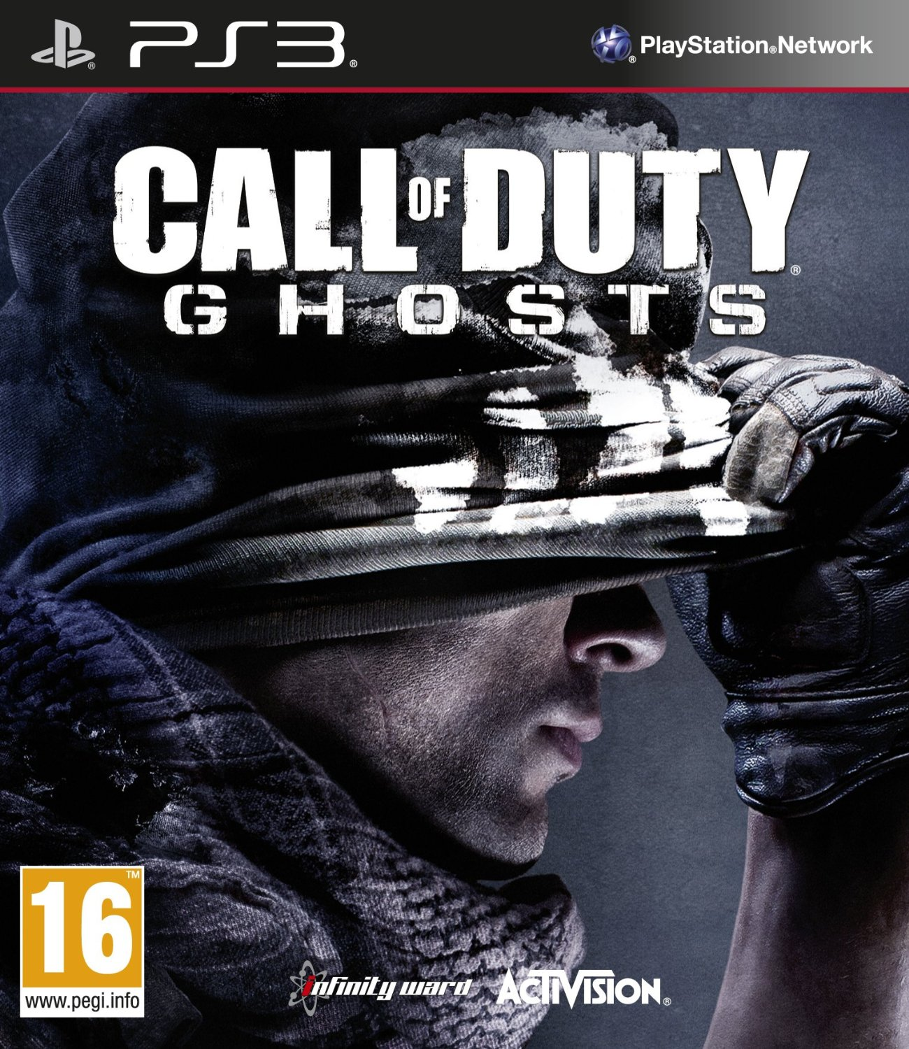 PS3 COD 決勝時刻:魅影(含季節個人包) Call of Duty: Ghosts -英文版-