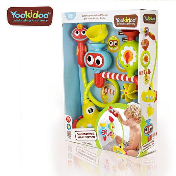 Yookidoo 以色列 洗澡玩具 / 戲水玩具 - 大眼瀑布蓮蓬頭套組