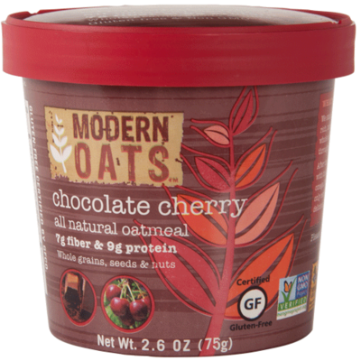 Chocolate Cherry Oat Meal Cups 12's Modern Oats 1f50c11ad411f3a1a92e7bf61dc2fcbe