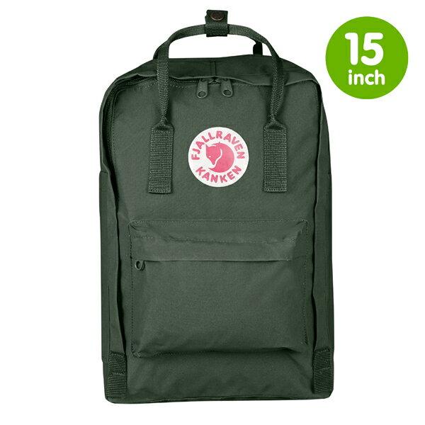 【鄉野情戶外用品店】 Fjallraven |瑞典|  Kanken Laptop 15 inch 經典款方型電腦包/空肯包 小狐狸背包/27172 《森林綠》