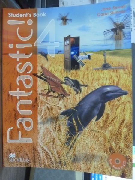 【書寶二手書T5/語言學習_QHM】Fantastic-Student's Book 4_Jane Revell