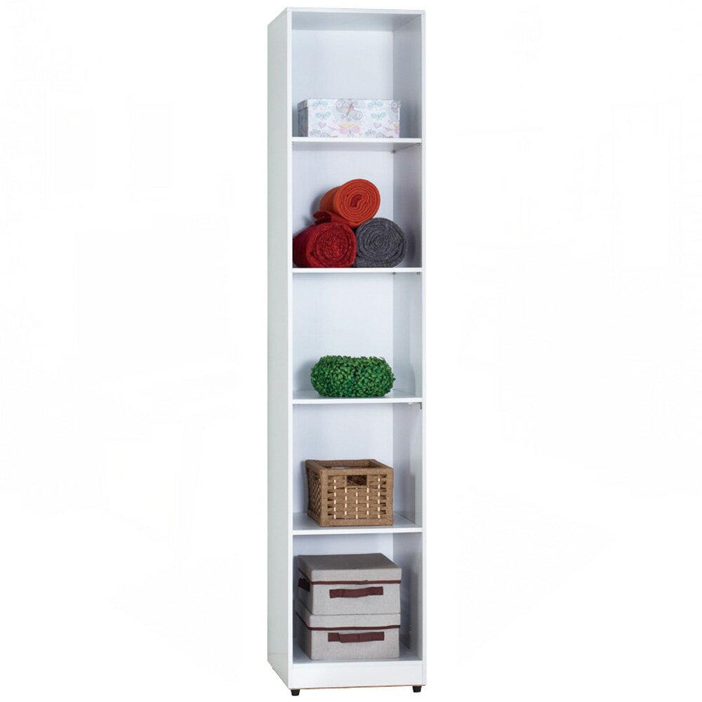 凱倫1.3尺白色開放隔板衣櫃/H&D東稻家居
