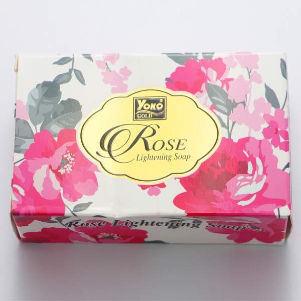【 YOKO 】 優菓 玫瑰款 花香皂 肥皂 香皂 110g 原裝進口 - 006062