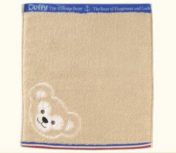 X射線【C000179】日本東京迪士尼代購- Duffy方巾,方巾/毛巾/浴袍/手帕/雪紡絲巾/浴裙