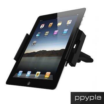 PPYPLE CD-NT Apple Samsung HTC 通用型 車架 360度 平板 固定架 固定於CD插槽