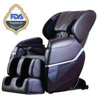 BestMassage Full Body Zero Gravity Shiatsu Massage Chair w/ Heat BM-EC77 - Brown