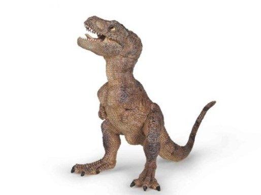 【法國 PAPO 收藏模型】棕色幼暴龍 PP55029