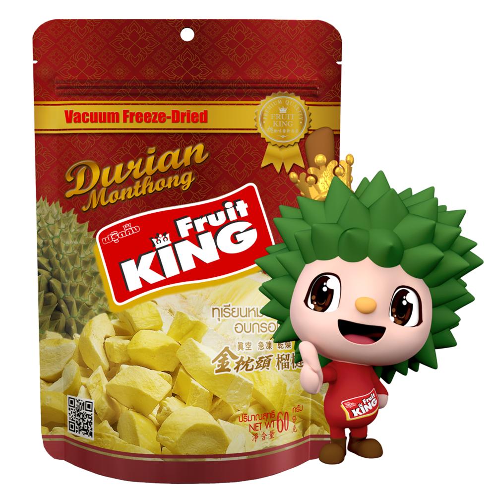【Fruit King鮮果乾】金枕頭榴槤60g