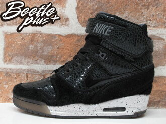 BEETLE PLUS 全新 NIKE WMNS AIR REVOLUTION SKY HI CITY 城市限定 NEW YORK 紐約 楔型 女鞋 內增高 633525-001