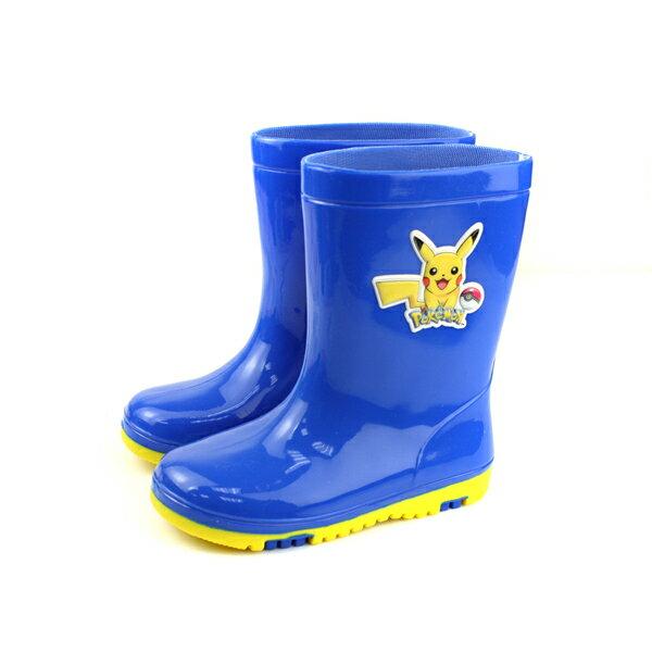 寶可夢雨靴雨鞋藍色中童童鞋PA7304no741