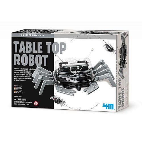 【4M 創意 DIY】Table Top Robot 螃蟹機器人