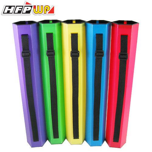 HFPWP H系列背袋式六角型圖筒(A3) *專利設計.限量商品* 環保材質 H-TUBE-10 台灣製 10個入 / 箱