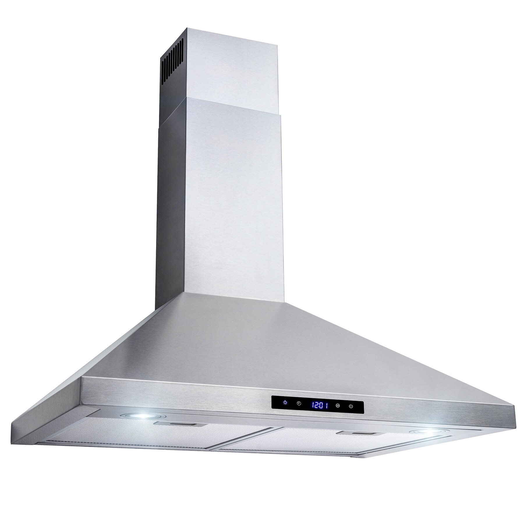 "AKDY 30"" Wall Mount Stainless Steel Touch Control Kitchen Range Hood Stove Vent 2"
