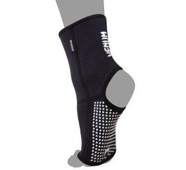 [古川小夫]XL碼MMA護腳背~散打搏擊拳擊格鬥UFC品牌VENUM扭傷防護護踝護具~防滑版護腳踝-黑