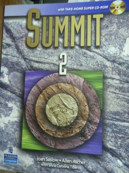 【書寶二手書T3/語言學習_QGD】Summit(2)_Saslow, Ascher_無CD