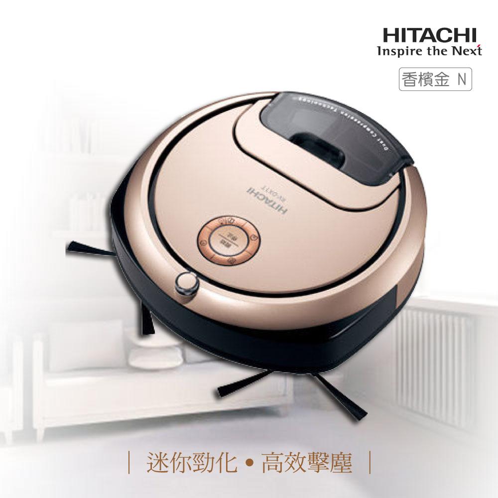 【實演機】HITACHI 日立 RV-DX1T 迷你丸吸塵機器人 minimaru RV-DX1TN日本製