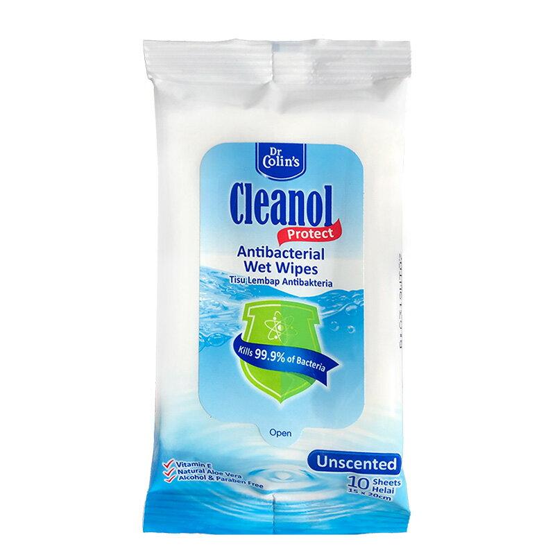 Dr. Colin\'\'\'\'s Cleanol抗菌濕巾 10抽/包