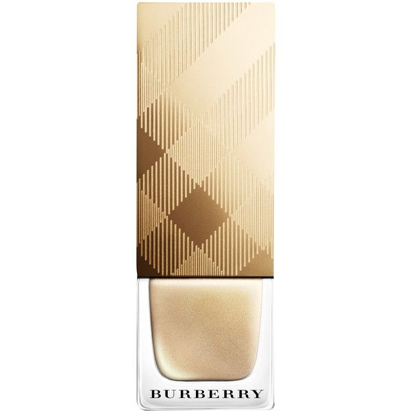 Burberry經典配色指甲油 NO.107 Light Golf 金色限定版 《ibeauty愛美麗》