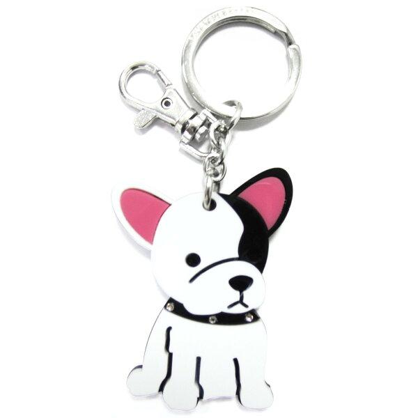 加拿大foufoudog鑰匙圈-法國鬥牛犬FrenchBulldog