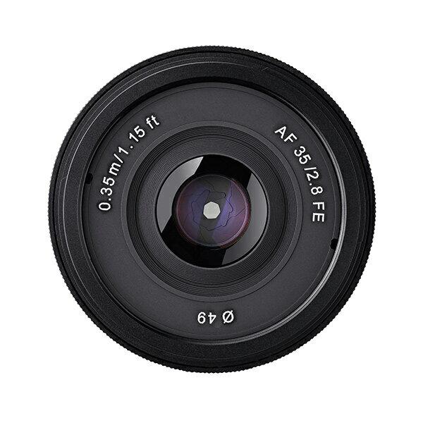 【新博攝影】SAMYANG FE 35mm F2.8 超輕便廣角定焦鏡頭   貨 送 49mmUV鏡、拭鏡筆