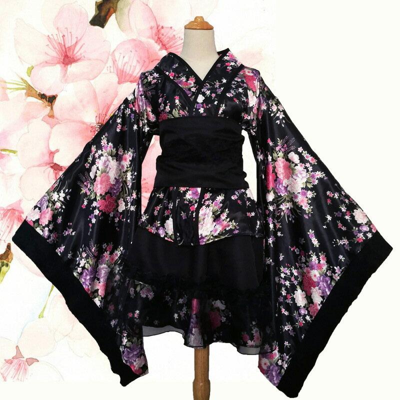 美琪 Cospaly重櫻和服女僕裝 極樂凈土宅舞洋裝