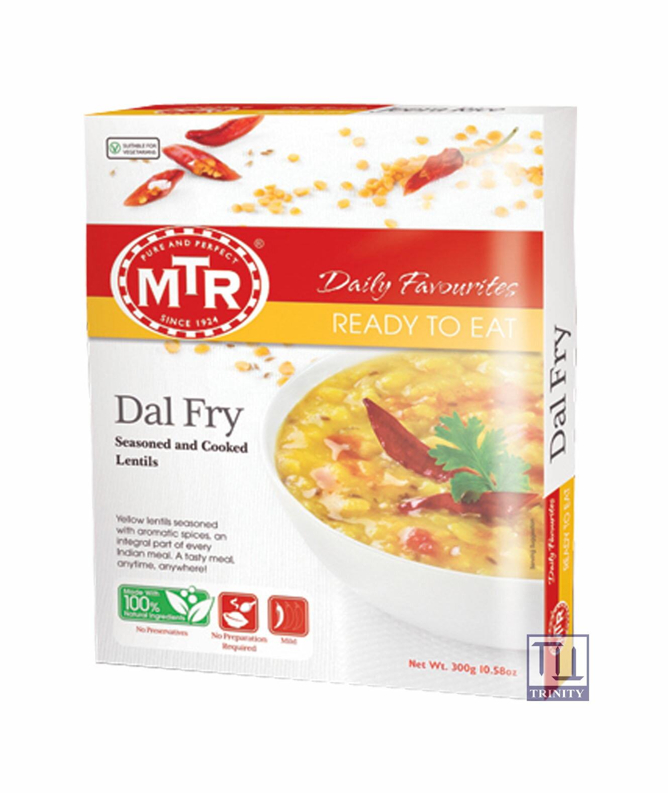 Mtr Dal Fry 印度綠豆仁咖哩即食調理包