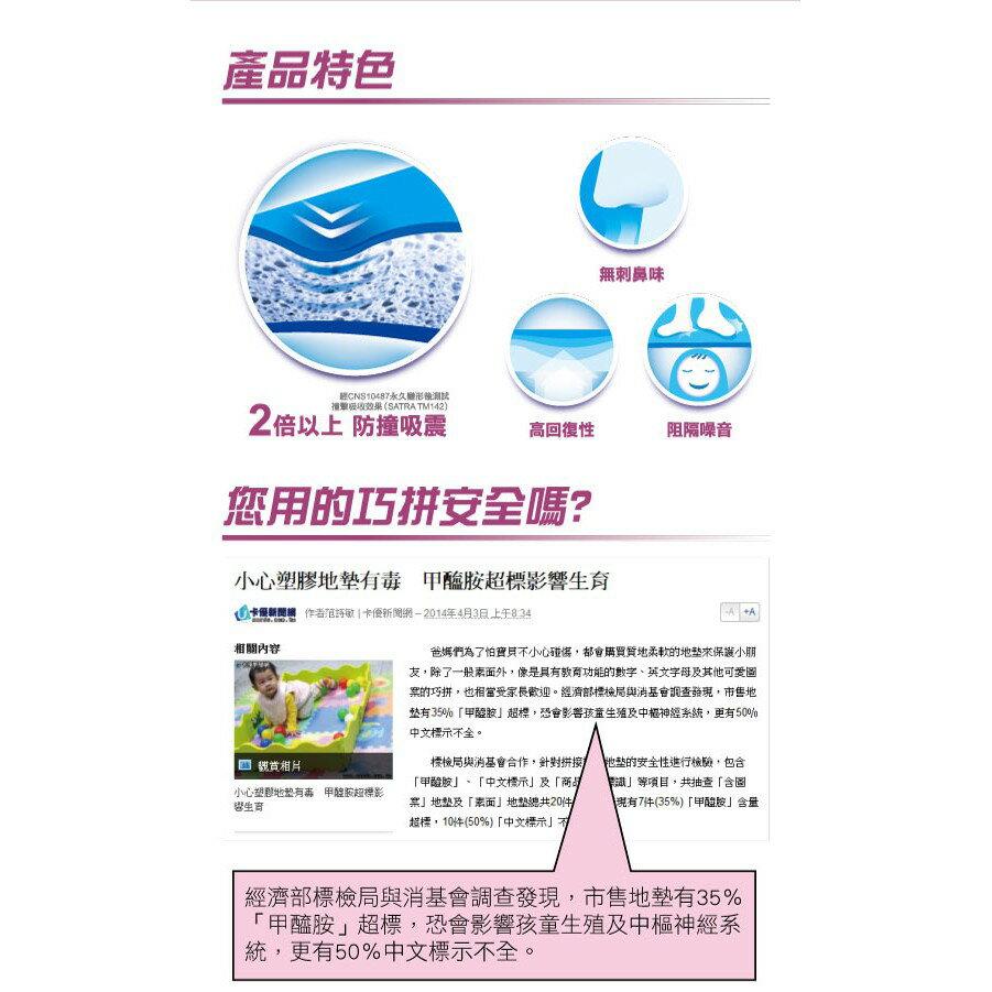 【醫護寶】3M 安全防撞地墊(中)61.5cm 4入 粉紅/藍